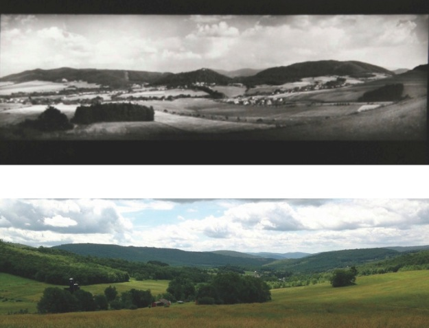Top photo: Josef Sudek, Hukvaldy, Czech Republic / Bottom photo: Anton Tutter, Mountains near Bloomville, NY